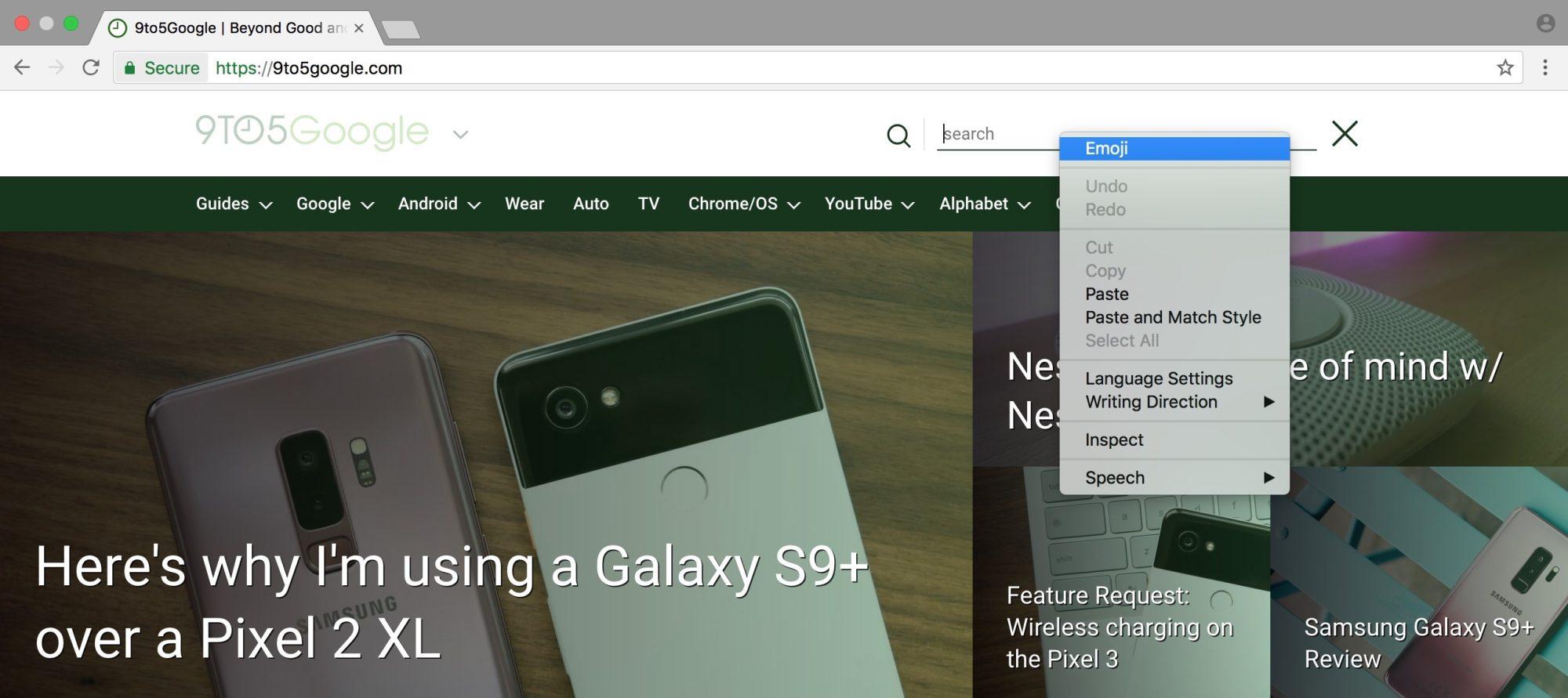 Cách gõ emoji nhanh trên Google Chrome