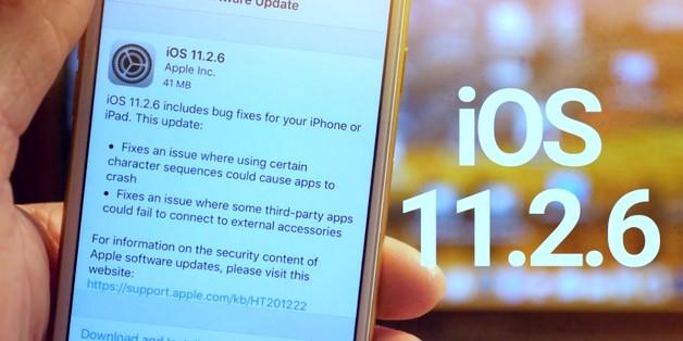 Apple khóa sign iOS 11.2.6 trong lúc iOS 11.3 bị tố gặp nhiều lỗi vặt