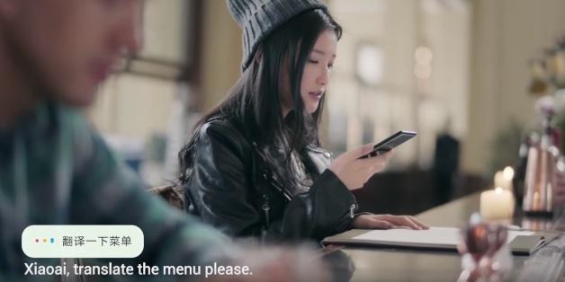 """Cùng xem trợ lý ảo Xiao AI của Xiaomi """"thể hiện"""" trong quảng cáo mới của Mi MIX 2S"""