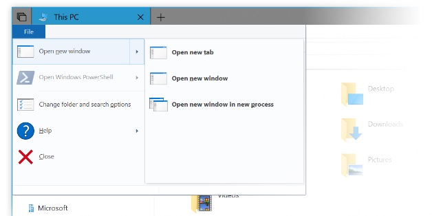 """Cận cảnh """"Sets"""" - tính năng duyệt file theo tab trên Windows 10 Redstone 5"""