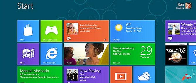Microsoft ra Windows 8 bản thử nghiệm cuối cùng