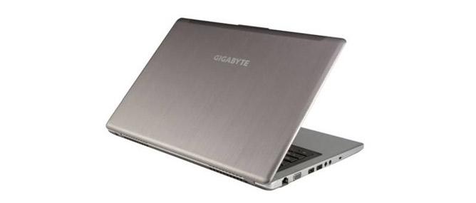 Ultrabook mới khá ấn tượng của Gigabyte
