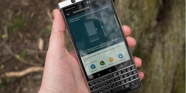 Lộ diện ảnh render của Athena - phiên bản kế nhiệm của BlackBerry KEYone