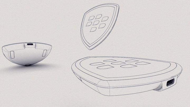 Lộ diện thiết kế bộ sạc không dây độc đáo của BlackBerry