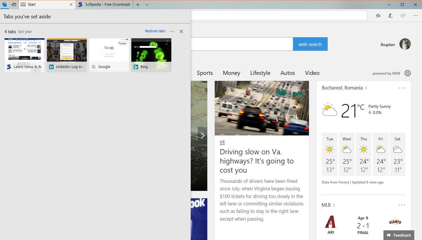 Microsoft đã cải tiến trình duyệt Edge trong Windows 10 Spring Creators Update như thế nào?
