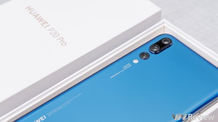 Cận cảnh Huawei P20 Pro tại Việt Nam, chụp thử hệ thống 3 camera