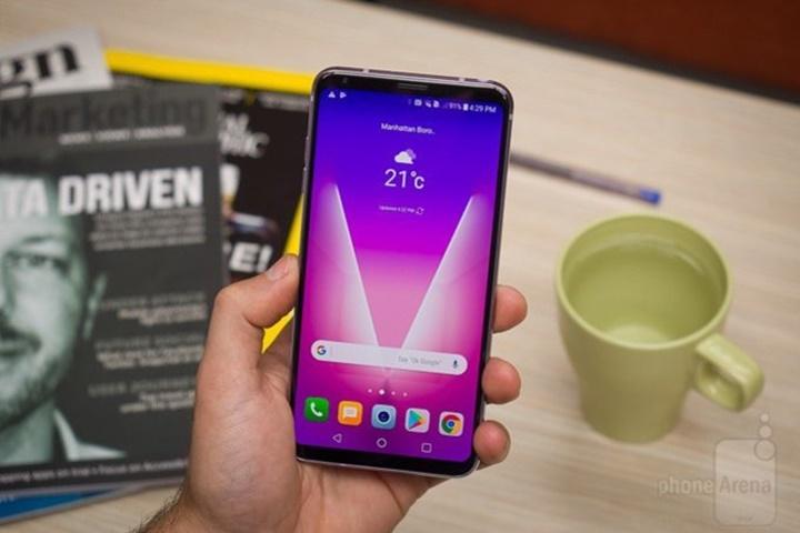 LG V35 ThinQ chuẩn bị ra mắt với màn hình 6 inch