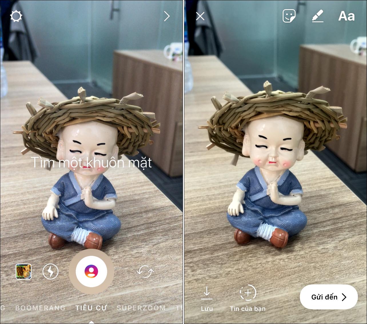 Thủ thuật chụp ảnh chân dung xóa phông bằng ứng dụng Instagram
