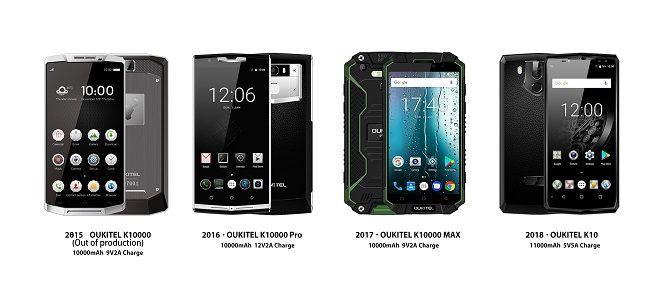 Bộ đôi smartphone pin khủng của Oukitel đã lên kệ