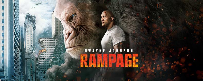 """Đánh giá phim Rampage: Xem bò mộng The Rock chinh phục """"King Kong biến đổi gen"""""""
