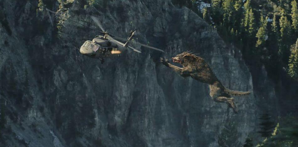 Đánh giá phim Rampage: Xem bò mộng The Rock chinh phục