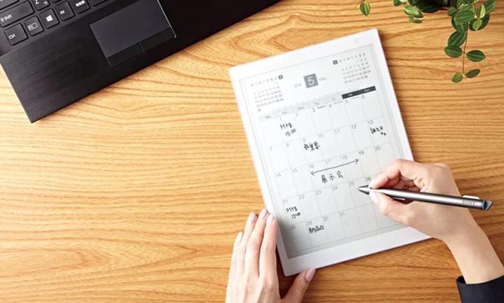 Sony giới thiệu phiên bản nhỏ hơn của máy tính bảng Digital Paper E Ink