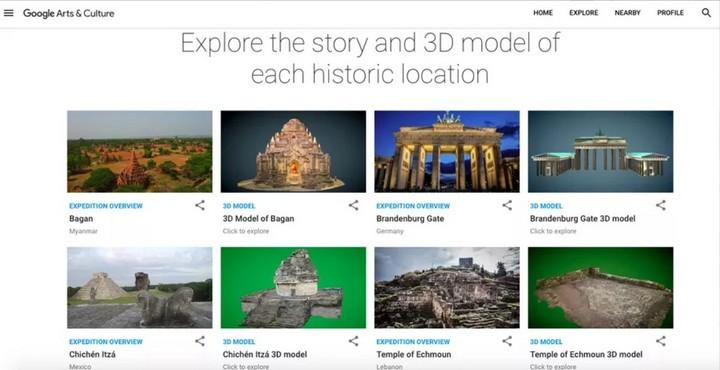 Google sẽ đưa bạn tham quan những di tích lịch sử bằng công nghệ thực tế ảo - ảnh 3