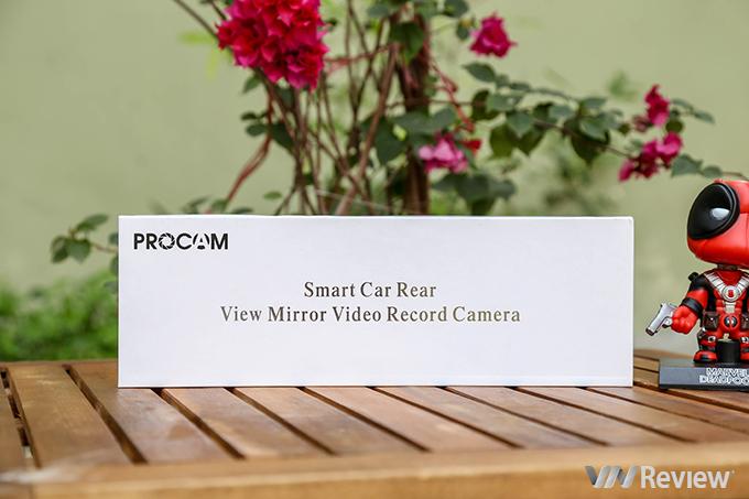 Đánh giá camera hành trình Procam T98 Plus: chạy Android, có 4G, phát Wi-Fi, cảnh báo lấn làn - ảnh 1