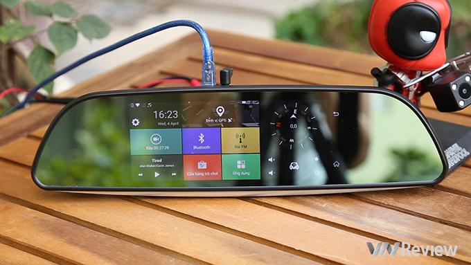 Đánh giá camera hành trình Procam T98 Plus: chạy Android, có 4G, phát Wi-Fi, cảnh báo lấn làn - ảnh 8