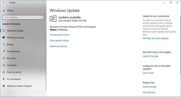 """Windows 10 Spring Creators Update trễ hẹn là do dính lỗi """"màn hình xanh chết chóc"""