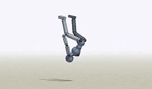 Robot đã có thể thực hiện các cú nhào lộn trên không một cách hoàn hảo