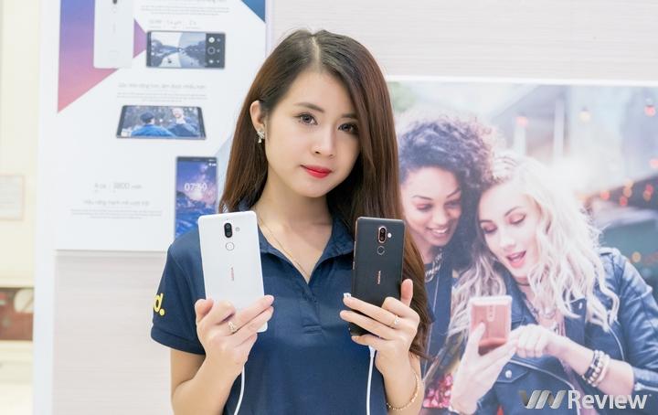 Nokia 7 Plus và Nokia 6 (2018) tại Việt Nam giá 8,99 và 5,99 triệu đồng