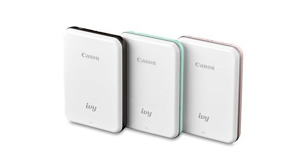 Canon giới thiệu máy in ảnh IVY Mini Photo Printer: nhỏ, nhẹ, sử dụng pin sạc