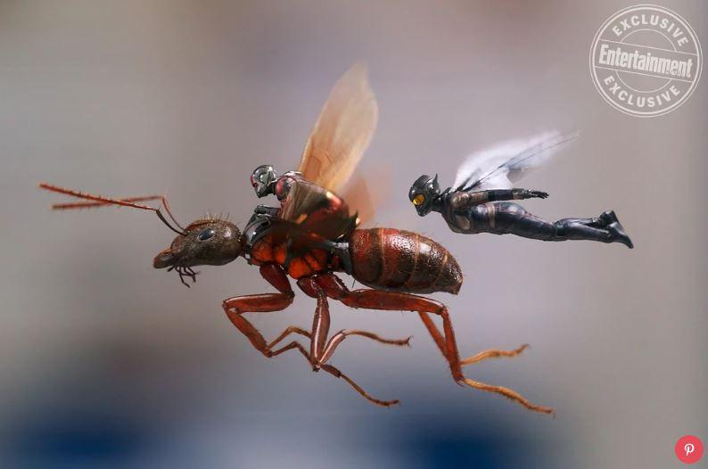 """Marvel công bố hình ảnh và nhân vật phản diện mới trong bom tấn """"Ant-Man and The Wasp"""""""
