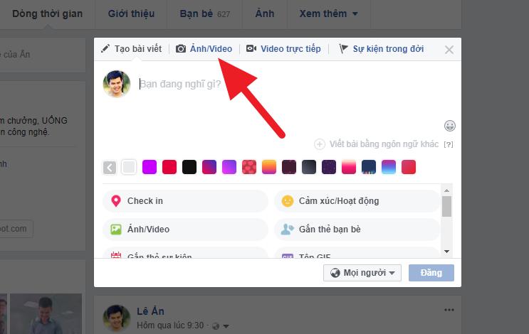 Hướng dẫn dùng Video làm ảnh bìa trên Facebook cực dễ