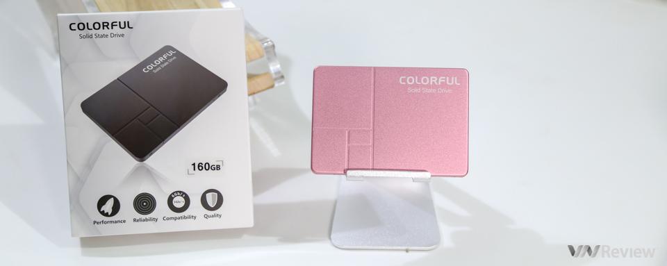 Tặng bạn đọc 02 ổ SSD Colorful SL300 160GB Spring L.E phiên bản giới hạn