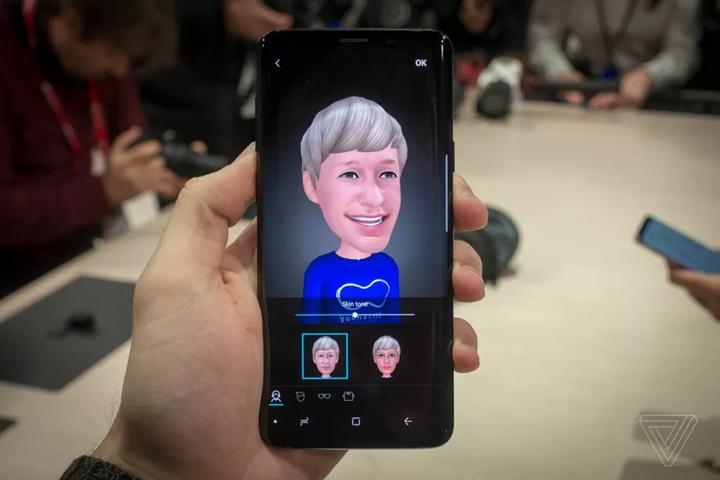 Bằng sáng chế của Samsung cho phép trò chuyện video với AR Emoji