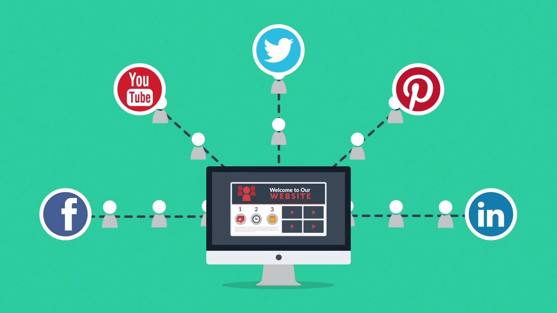 Tối ưu hóa hiện diện trực tuyến bằng cách kết hợp sức mạnh của trang web và mạng xã hội
