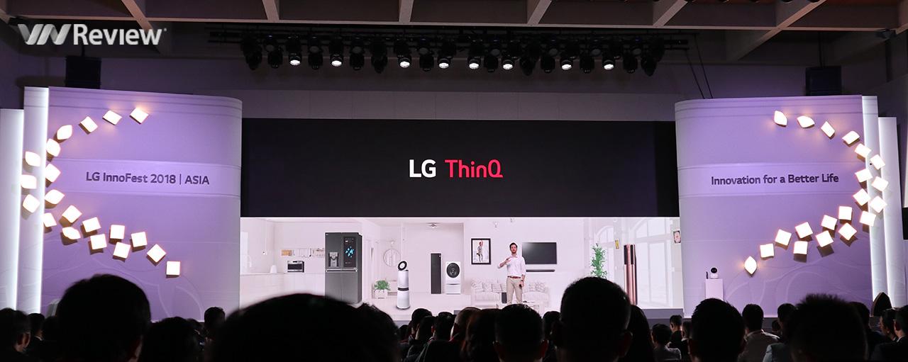 Toàn cảnh LG Innofest 2018 Asia: Tất cả cho AI