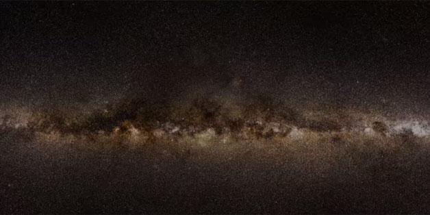 Đây là bản đồ thiên hà chính xác nhất từ trước đến nay, chứa dữ liệu 1,7 tỷ ngôi sao