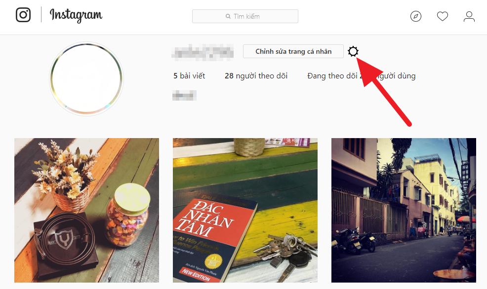 Cách tải dữ liệu trên Instagram về máy tính