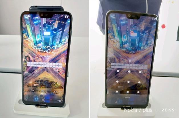 Lộ ảnh thực tế Nokia X với tai thỏ, màn hình viền mỏng