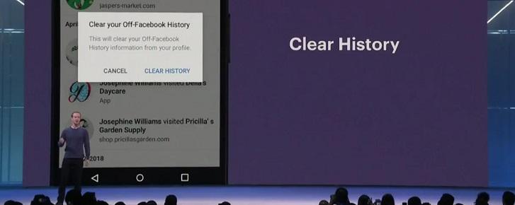 Facebook hé lộ công cụ xóa lịch sử duyệt web và bảo vệ dữ liệu cá nhân cho người dùng