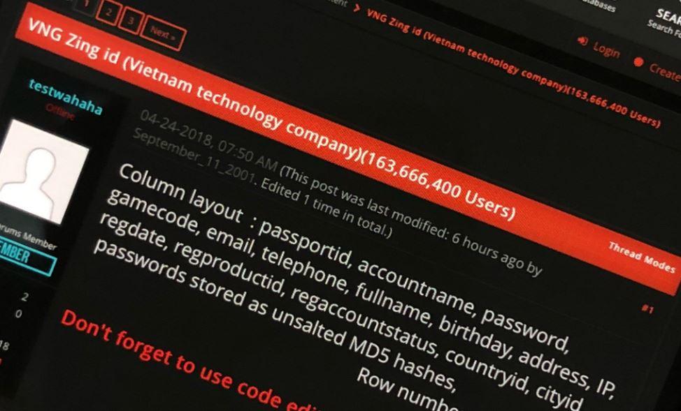 Từ vụ 160 triệu tài khoản Zing ID bị hack: Ngã ngửa với kiểu đặt mật khẩu của người Việt