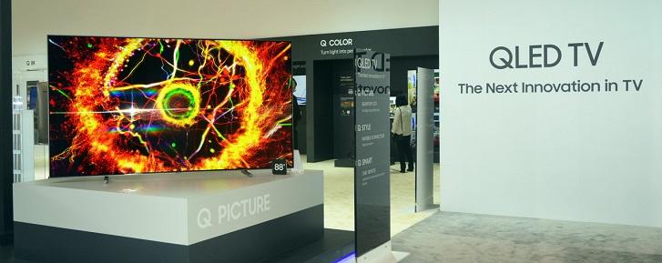 Vì sao Samsung từ bỏ công nghệ OLED ở phân khúc TV cao cấp?