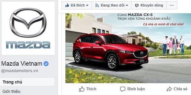 Xuất hiện hàng loạt trang Facebook giả mạo Mazda Việt Nam để lừa đảo