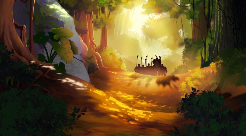 """Dự án phim hoạt hình lịch sử """"Loa Thành rực lửa"""" hé lộ teaser đầu tiên"""