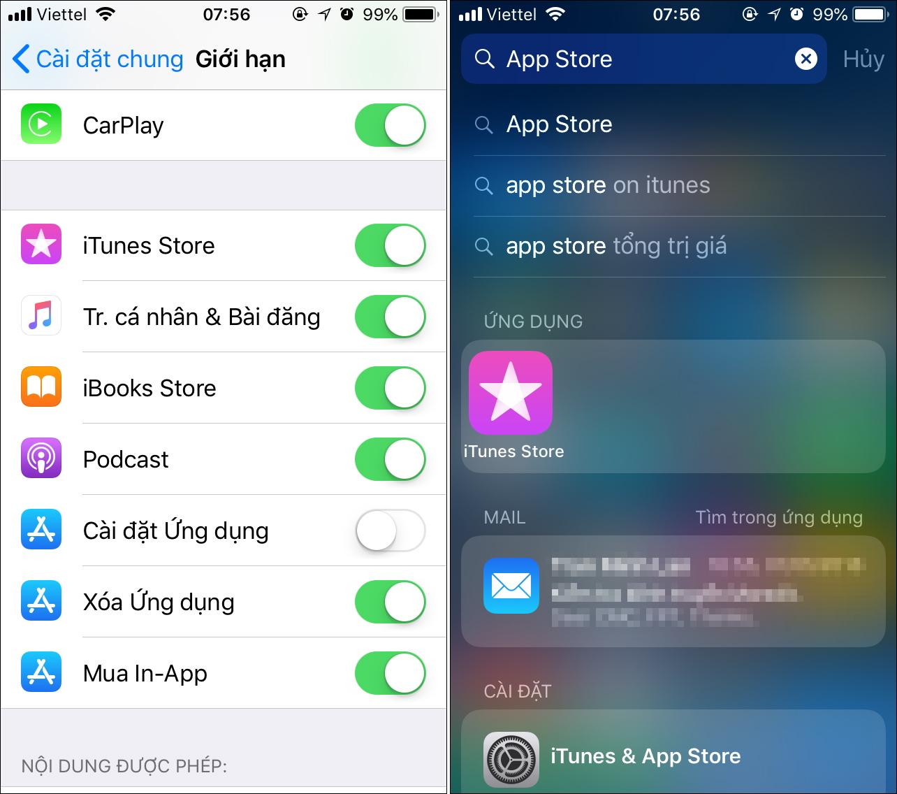 Cách cấm trẻ em cài đặt hoặc xóa ứng dụng trên iPhone, iPad - 230543