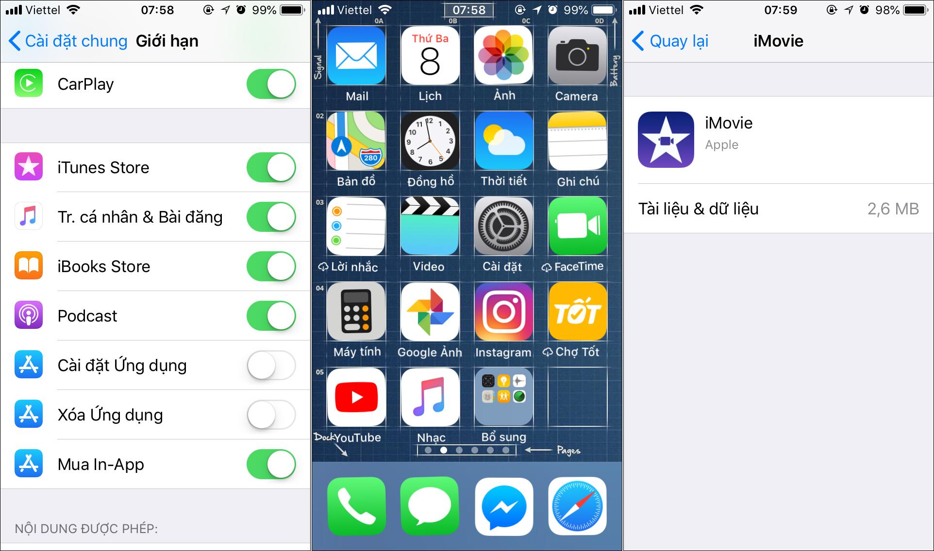 Mẹo cấm trẻ em cài đặt hoặc xóa ứng dụng trên iPhone, iPad