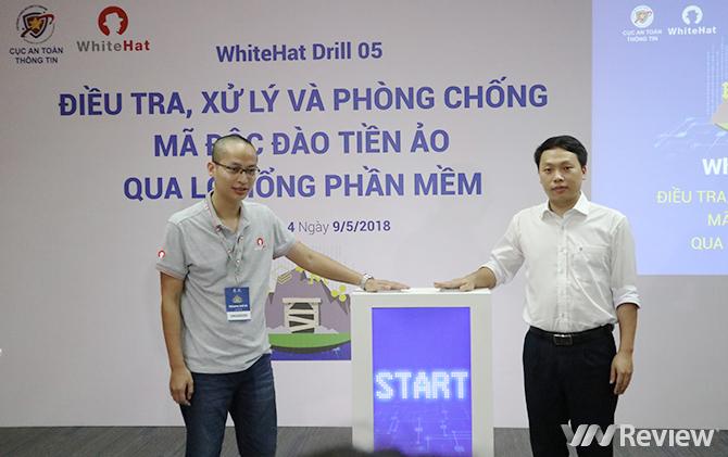 Diễn tập chống mã độc đào tiền ảo lớn nhất tại Việt Nam