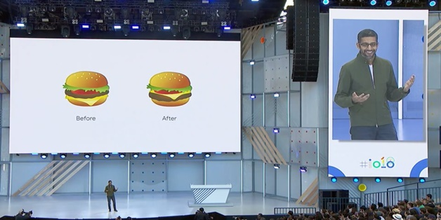 Tại sao CEO Google phải xin lỗi về biểu tượng cảm xúc bánh burger?