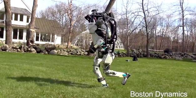 Robot của Boston Dynamics đang học cách chạy giống người và định hướng tự động