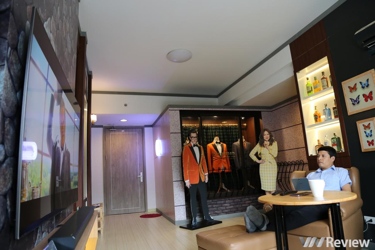 """""""Trên tay"""" ngôi nhà Q-House của Samsung ở Hà Nội"""