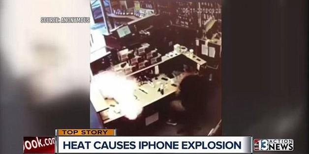 iPhone 6s phát nổ ngay trong trung tâm dịch vụ sửa chữa iPhone tại Mỹ