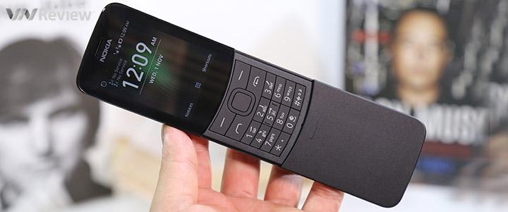 """Mở hộp điện thoại """"Ma trận"""" Nokia 8110 4G: smartphone trong thân hình """"cục gạch"""""""