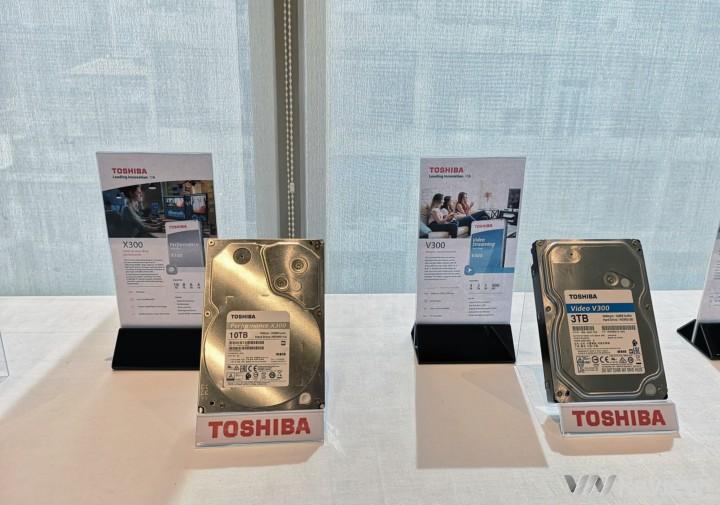 Toshiba tung loạt giải pháp ổ cứng gắn trong mới, dung lượng tối đa 10TB