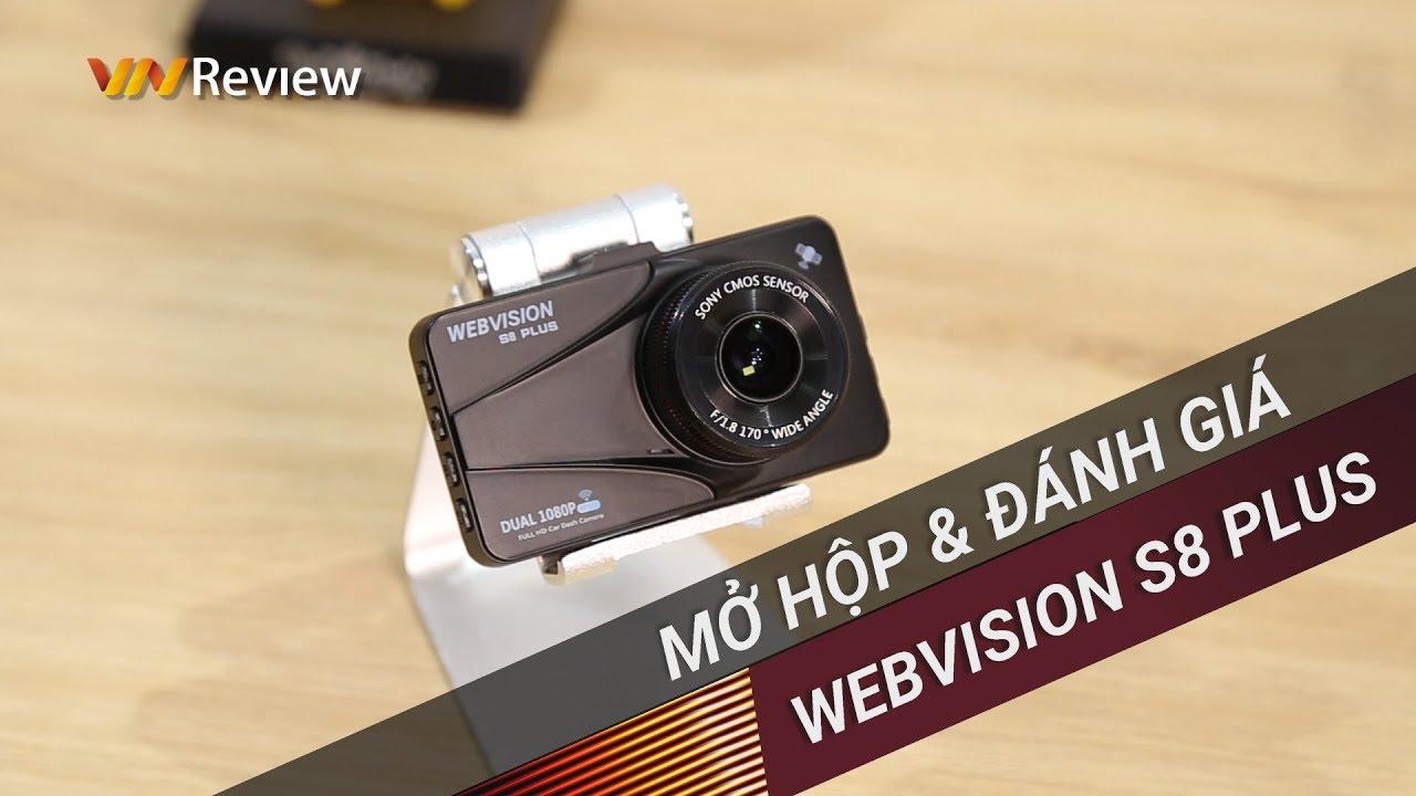 Đánh giá camera hành trình Webvision S8 Plus: quay nét, hỗ trợ nhiều loại cảnh báo