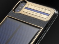 Chiếc iPhone X giá 4.000 USD có pin mặt trời, một cái dành miễn phí cho Elon Musk
