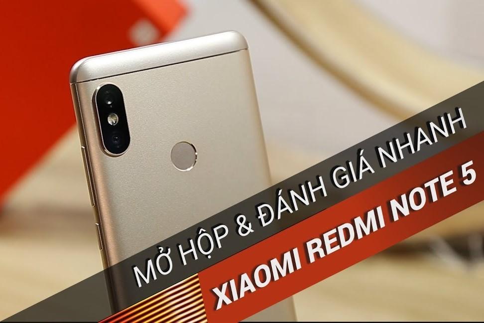 Mở hộp & Đánh giá nhanh Xiaomi Redmi Note 5: nâng cấp lớn về camera và hiệu năng