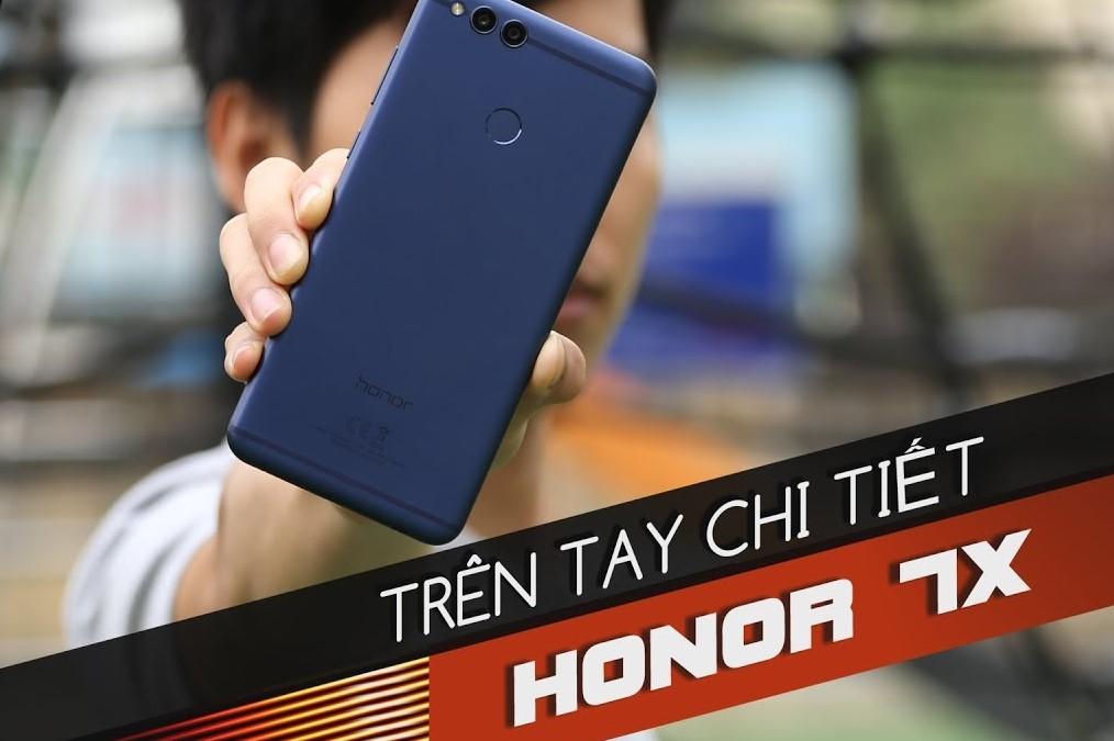 """Trên tay chi tiết Honor 7X: anh em """"song sinh ngoài giá thú"""" của Huawei Nova 2i"""
